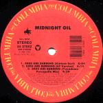 Midnight Oil - Beds Are Burning - (VGC+)